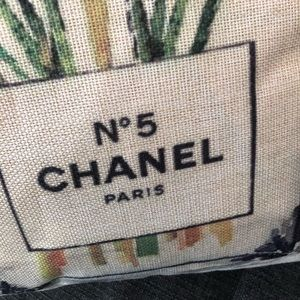 Accessories - Chanel flower pillow cases